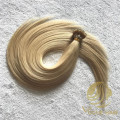 Blonde remy cuticle nano ring hair extensions