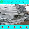 Alta qualidade galvanizado aço polo/cruzar o braço/aço aço ângulo/canal para a ferragem de linha aérea