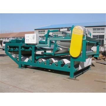 Máquina de desaguamento de lodo para tratamento de esgoto