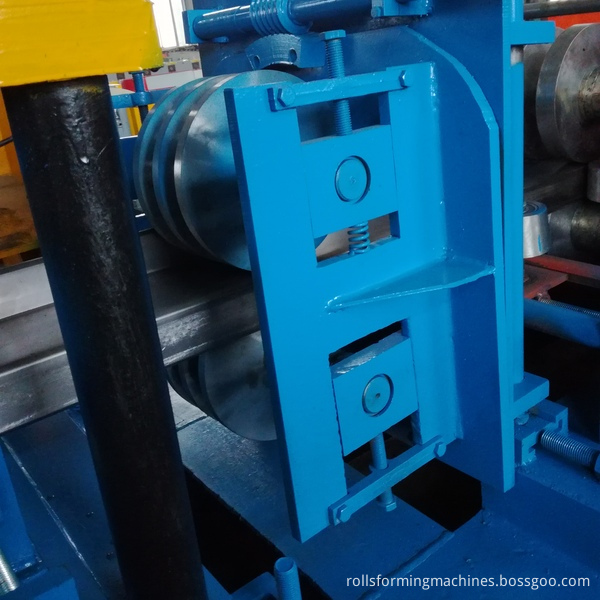 Z purline steel frame channel machine 2