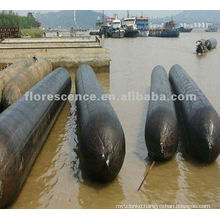 China D1.5*L12m China inflatable boat salvage marine airbag