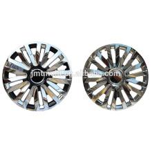 Moule adaptée aux besoins du client par moule de couverture de roue de prix bon marché superbe de pièces