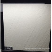 Белый матовый Полнотелый деревенский напольный плитка