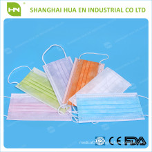 3ply bfe99% non woven disposable face mask