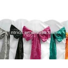 écharpes de taffetas pintuck durable et bon marché, chemin de table, nappes,