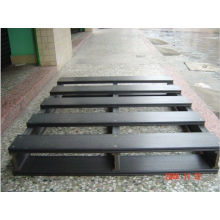 Grey Wpc Wood Plastic Composite Pallet Anti-corrosion For Shipment