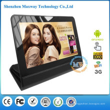800X480 resolução7 polegadas touch digital photo frame com android WiFi