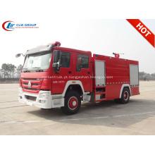 2019 Novo caminhão de combate a incêndio SINO HOWO 8000litres