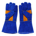 Leather Industrial Labor Safety Welding Gloves