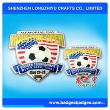 Metall-Fußball-Pin-Abzeichen (LZY-000063)