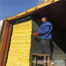 Målad Rockwool Sandwich Panel