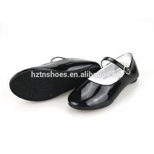 Girls back to school shoes patent pu girls single shoes buckle strap girls dance shoes big girls pu leather flat ballet shoes
