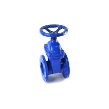 JKTL non rising stem DN100 light blue GGG50 PN16 good quality brass nut gate valve