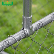 PVC Coated Chain Link Fence Price Black Chain Link Fence