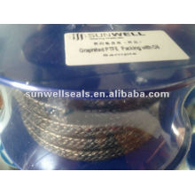 Упаковка из Китая с графитом PTFE с маслом