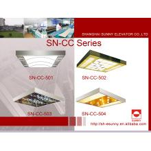Techo del elevador del automóvil con panel superior acrílico (SN-CC-501)