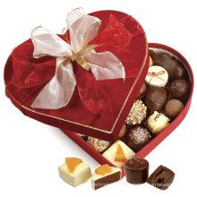 Caja de regalo de papel impreso para embalaje de chocolate