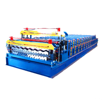 Gali Bumbung Logam Glazed Roll Forming Machine