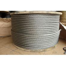 """6X7 5/32"""" Galvanized Steel Wire Rop"""