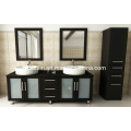 Double Sink Wooden Bathroom Vanity (BA-1119)