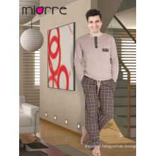 Miorre Men's Sleepwear Cotton Pajamas Set