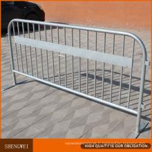 Barrières de sécurité amovibles en métal