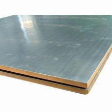 Titanium Explosion Welding/Bonded Metal Clad/Cladding Plates/Sheets, Explosion Titanium Clad Steel Plate