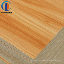 HIYI Colorful Fancy Wood Grain Melamine Faced Plywood sheets for furniture