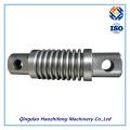 Часть CNC подвергая механической обработке сделанные точность металла и алюминия