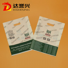 100% Virgin Material HDPE LDPE Die Cut Bag