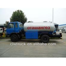 Dongfeng 153 lpg camión, 15 m3 lpg entrega camiones para la venta