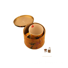 Tin Gift Boxes for Tea, Gift Boxes for Tea Cups Tin Box for Cups Promotion (XJ-033Y)