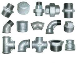 Zinc Connecting Pipes Casting
