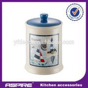 Ceramic kitchen sugar box