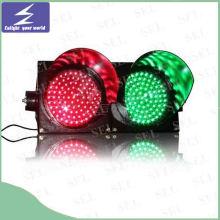 85-265V Full-Ball LED semáforo luz de señal de tráfico de pantalla completa