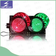 85-265V Full-Ball LED Traffic Light Full Screen Traffic Sign Light