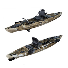 Ocean water rowing boats LSF Factory Mirage Propel 12 3.6m Single sit on fishing kayak with pedals