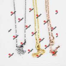 Joyería al por mayor del collar de la cadena de la serpiente del metal del metal de la manera (CSC50829)