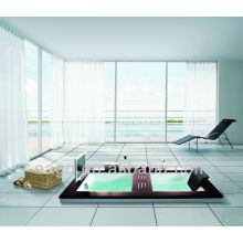 Luxury Jet Whirlpool Massage Bathtub with TV for Lovers (AM192ET)