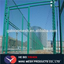 Verzinkte & pvc beschichtete Kettenglied-Zaunverlängerungen Anping-Hersteller