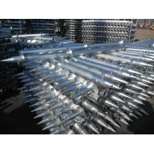 Montage solaire Hot DIP Galvanized Ground Screw