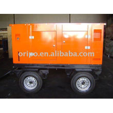 44kw 50hz,220v trailer generator set wtih lovol diesel engine