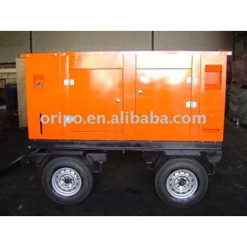 44kw 50hz, générateur de remorque 220v avec moteur diesel lovol