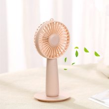 Mini USB ricaricabile Handy Fan con specchio