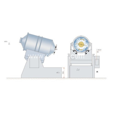 Eyh Series Two Dimensions Mixer Used in Juice or Granule