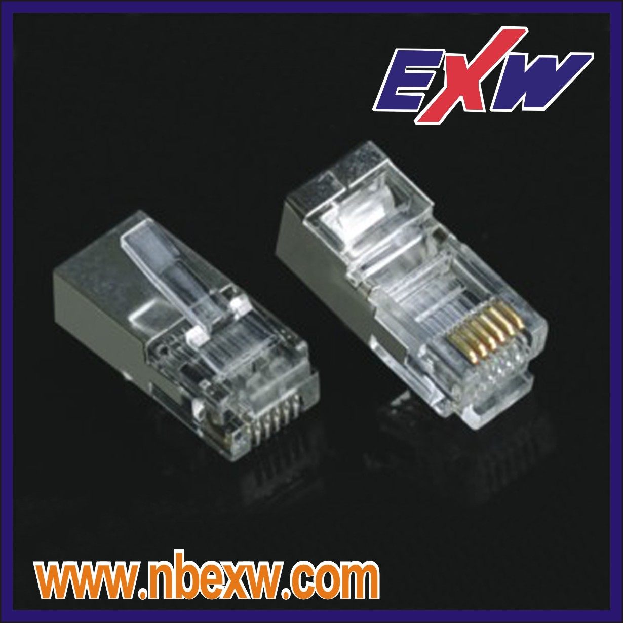 Cat6 Shielded RJ45 Plug