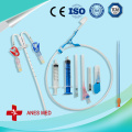 Cast bandage awound protector long ultra-soft antimicrobial picc line cover