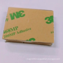 N35 3M self adhesive backed round/disc magnet