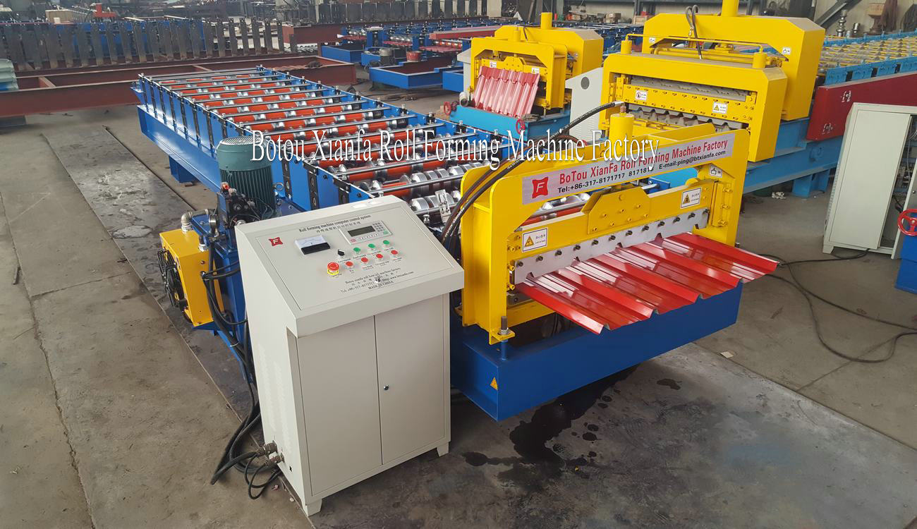 roll-forming machinery