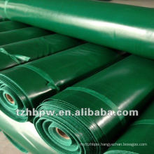PVC coated rolls tarpaulin in stock customized